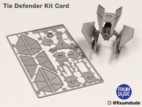 Tie Fighter Defender Kit Card