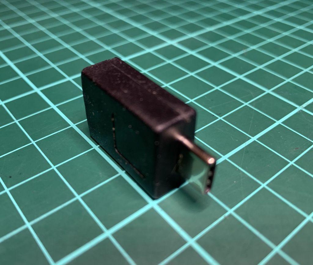 USB A Socket to USB C Plug Adapter