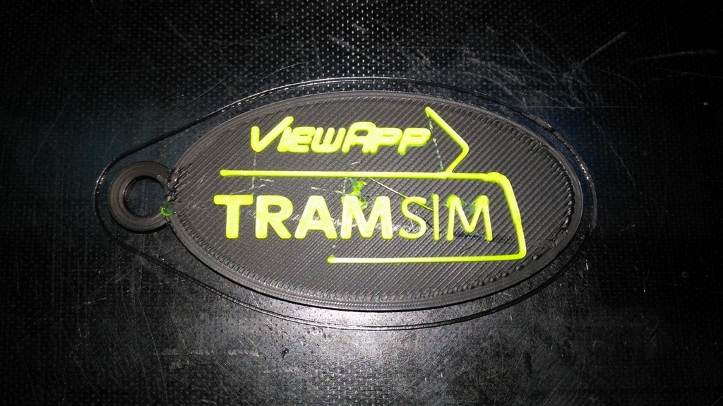 ViewApp TramSIM Keychain