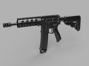 Printable Airsoft AR15 (PAAR15) AEG Body kit (08.12.19)
