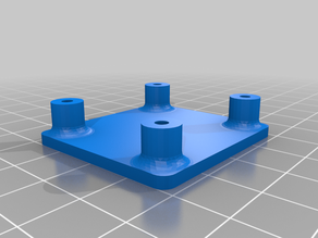 Simple Stand for VMA 401 motor controller