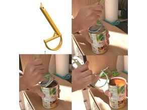 Can opener lever / Levier ouvre boite de conserve 02