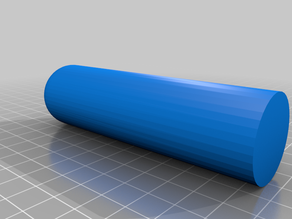 Prototype of the high pressure cylinder