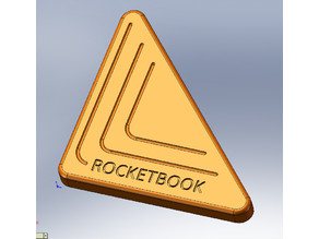 Rocketbook Beacon for 10mm magnets