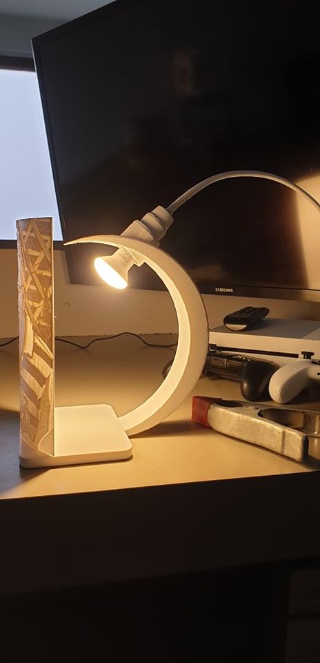lamp overhang