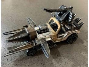 Gaslands X Crossout Vector Gun