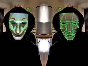Face Changing Projection Mask - Be Anyone, Be Anything