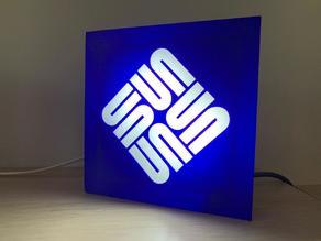 Sun Microsystems Illuminated Sign