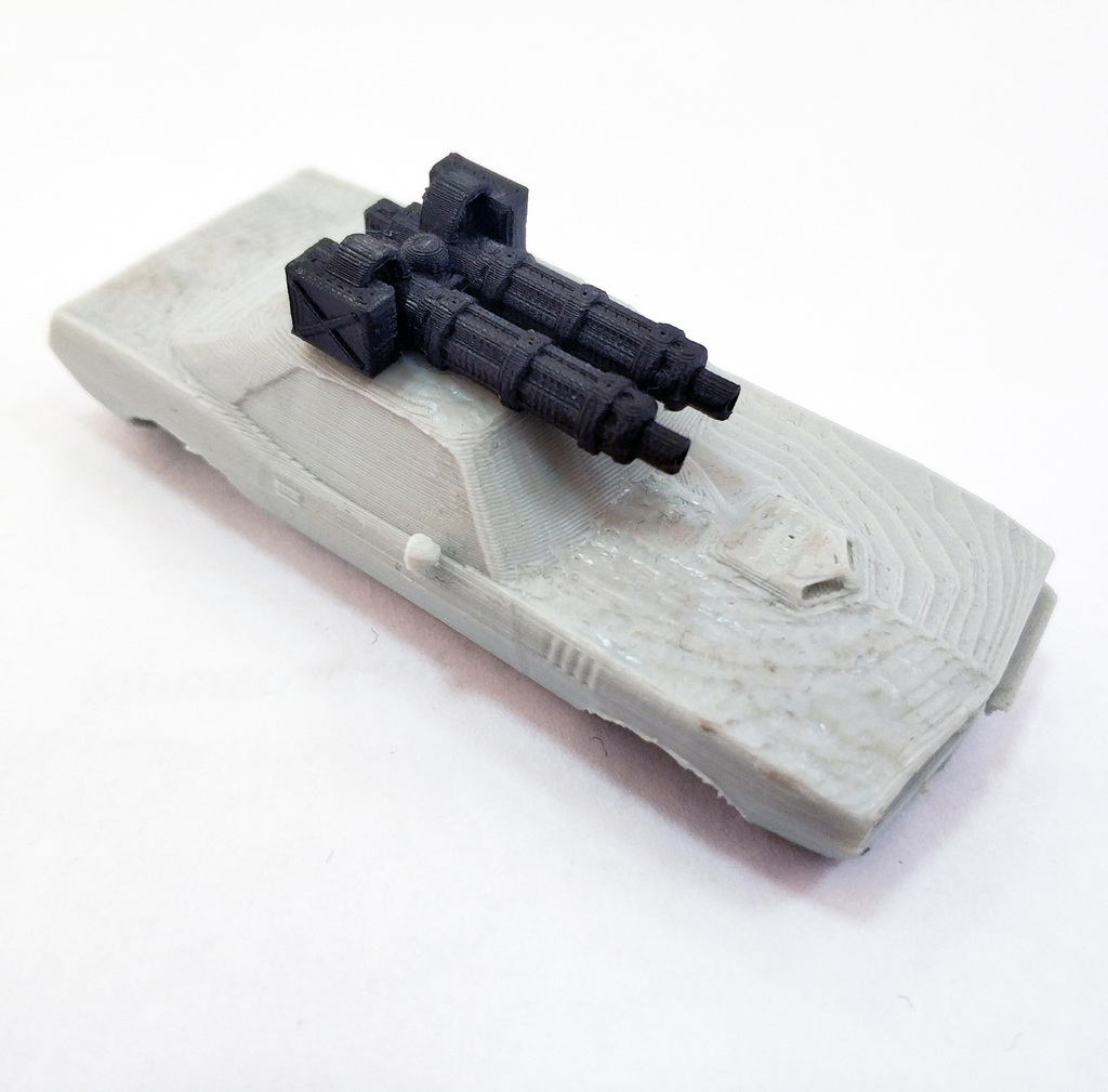 Machinegun weapon 1:64 (Gaslands)