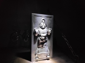 Santa in carbonite
