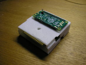 PiTrex Cartridge Case (Vectrex to Raspberry Pi interface)