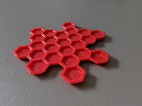 Nesting Honeycomb Coasters