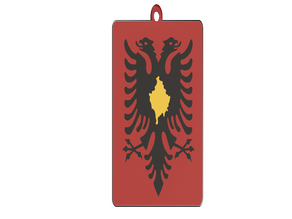 Keychain Albania & Kosovo