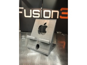 Wide apple iPhone stand / phone holder