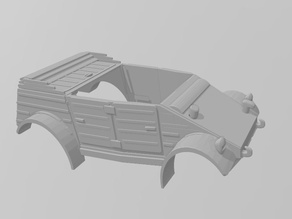 VW Kubelwagen 1/16 scale