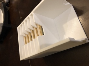 Settlers of Catan Magnetic Pieces Modular Box Storage - Full with Cards