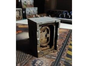 Necromunda - Small door, lasercut