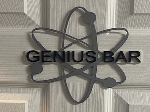 Apple Genius Bar sign