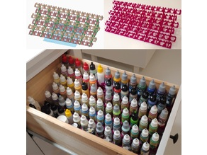 Modular Paint Rack/Shelves for 17ml Bottles