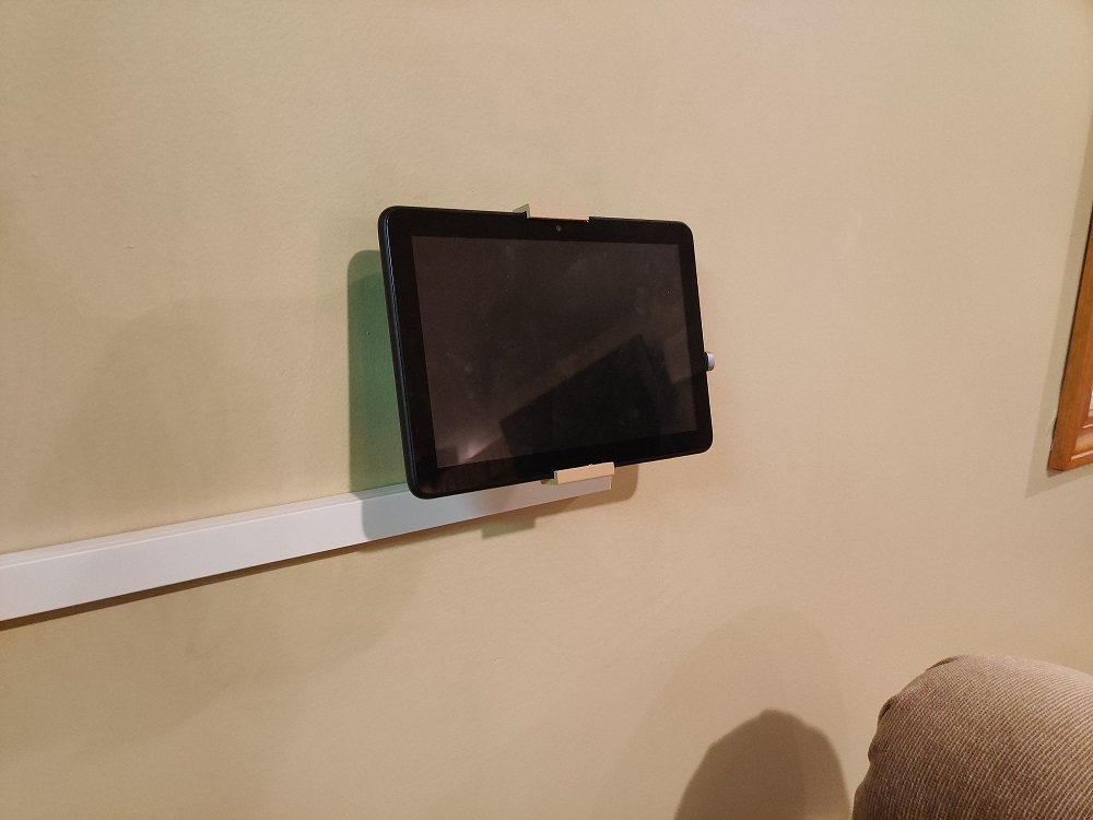 Light Switch Tablet Mount