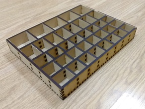 Organizer for electronic components - Arduino parts