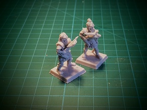 Hobgoblin with crossbow 28 mm (No supports needed)