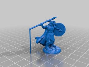 Dragonborn Warrior with Javelin