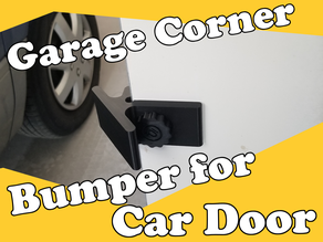 Garage Corner Bumper for Car Door