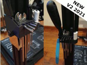 Ender 5 & 5 Pro Tool holder (2021 Update)