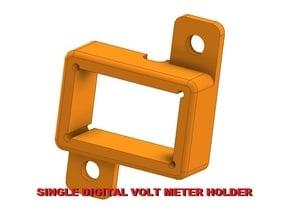 Digital volt meter - single, panel mount