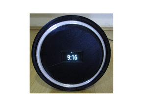 Neopixel MQTT Alarm Clock with Buzzer, RTC, Temperature, Humidity and Pressure sensor