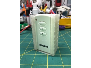 SuperSwitch Remote Wall Mount Holster