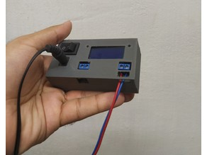 DC power supply with lcd