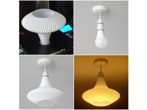 Spiral lampshade (vase mode)