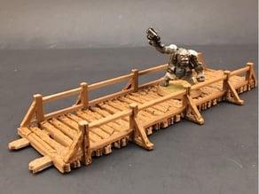 Wooden Bridges for 28mm Miniatures Gaming