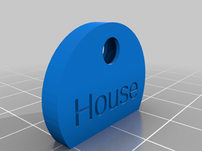 Customizable Key Cap (with doubled sided text)