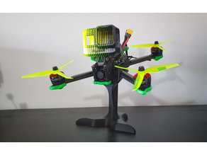 FPV Racing Drone Stand (No Supports Needed)