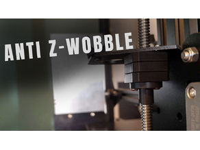 Ender 3/Pro/V2 (DD and Bowden) Z axis anti wobble nut