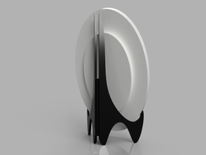 Small plate stand (diameter ~12cm)