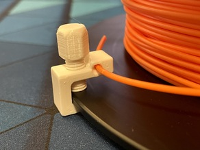 """Super Crift"" universal filament clip"