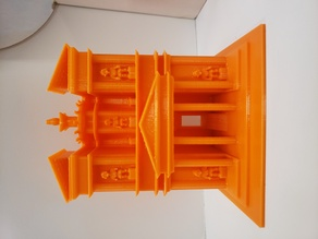 Al-Khazneh, Petra, Jordan 3D Scale Model