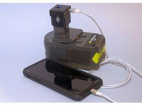 RYOBI USB Charger Battery Pack