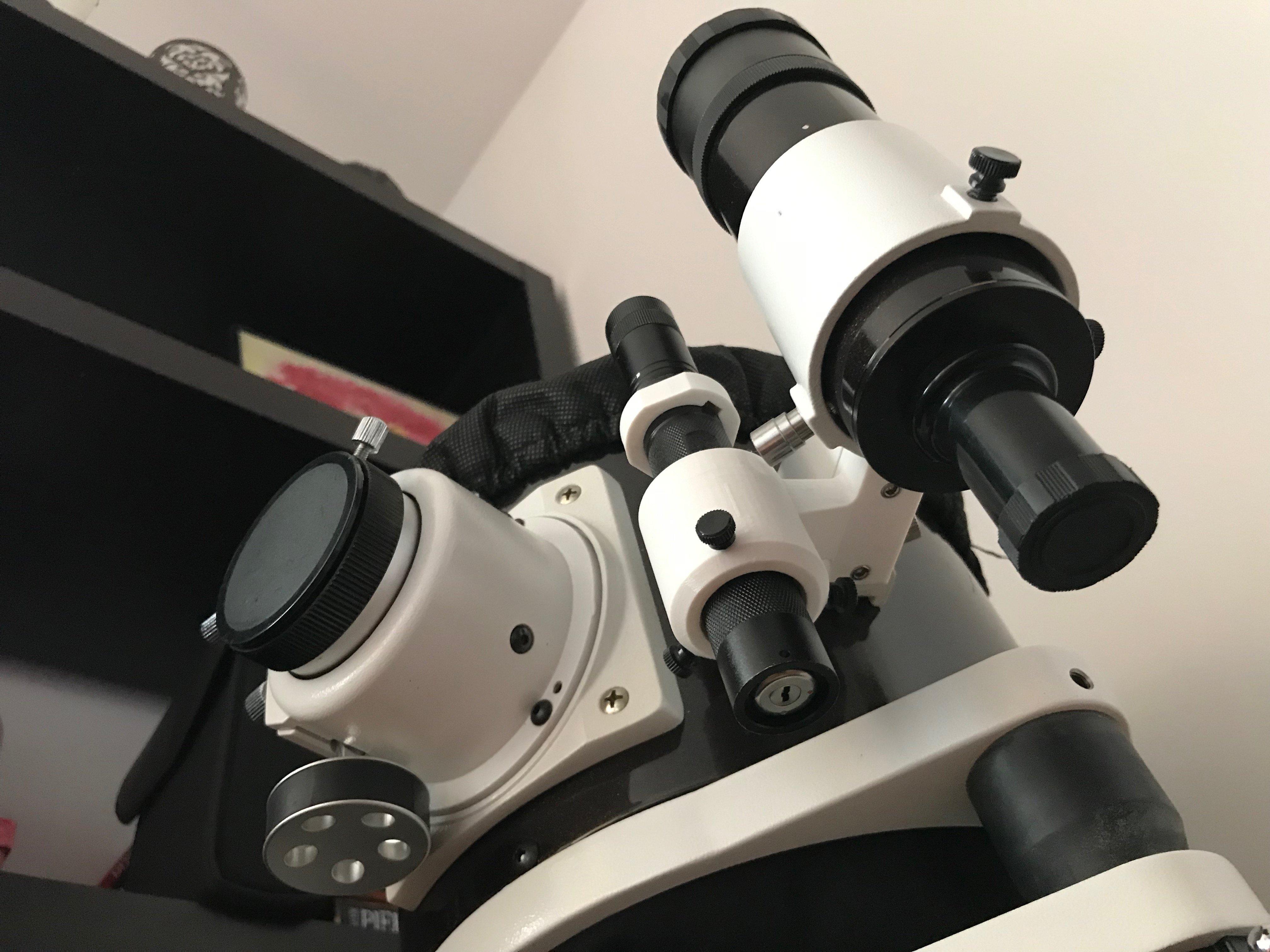 Laser mount for Sky-Watcher finder scope.