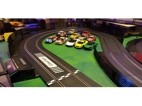 Scalextric Slot Car Track Borders and Barrier/Fence System