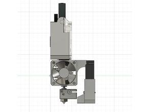 E3D V6 Universal Micro Blower mount & nozzle