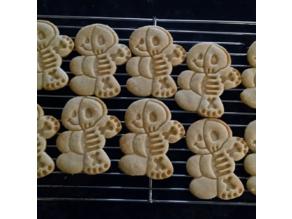Gingerbread Man / Skeleton Cookie Cutter