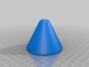 Nose Cone for Water Rocket