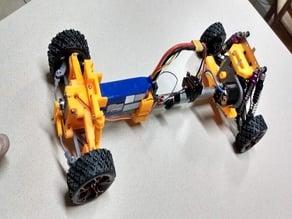 2wd Drift car ( variable length )