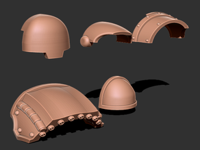 Blank sections of Armor