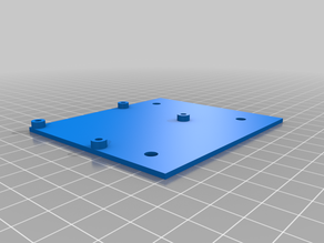 Mosfet Mount for T-Nut Aluminum Extruded Frames